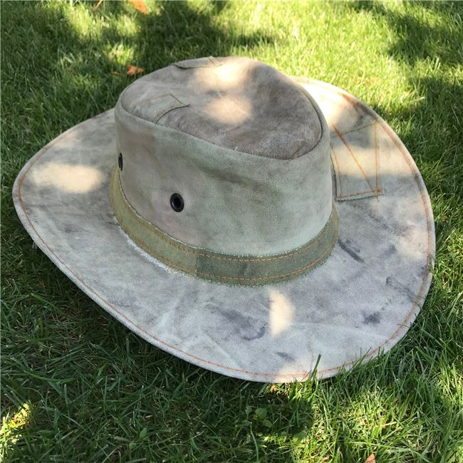 Click to order a Wide Brim Green Gardening Hats