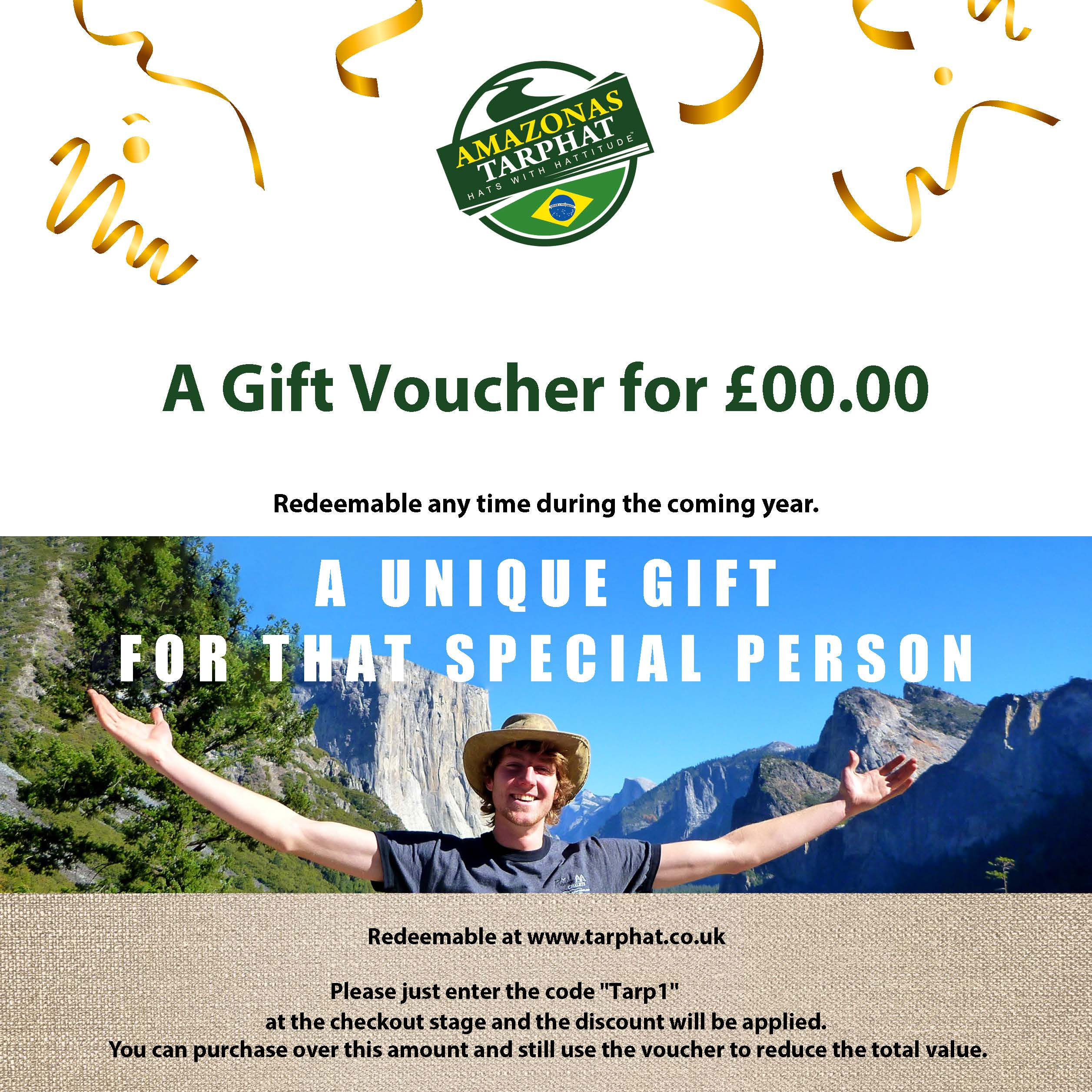 Click to order a Gift Vouchers