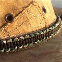 Camouflage paracord hatband