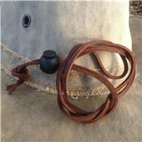 leather cord for widebrim hats