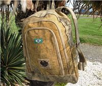 Recycled Tarp Canvas Backpack-Rucksack