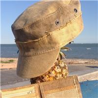 Castro Military recycled Tarp Cap