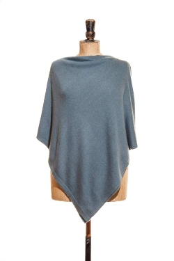 Cashmere & Wool Poncho