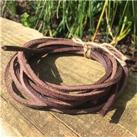 Leather deckshoe laces from Brazil