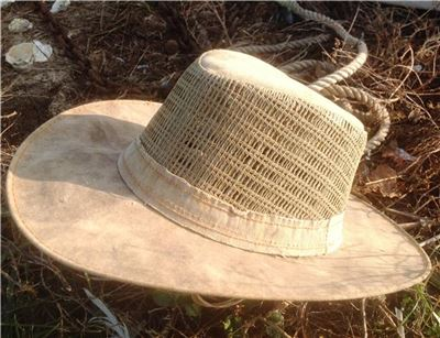 Side Vented Wide Brim Canvas Tarp Hat